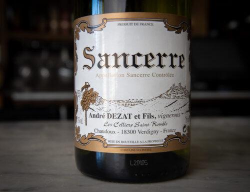 Wine Wednesday: Andre Dezat Sancerre