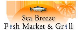 Sea Breeze Fish Market & Grill Logo
